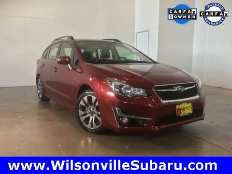 Certified Pre-Owned 2016 Subaru Impreza 2.0i Sport Limited