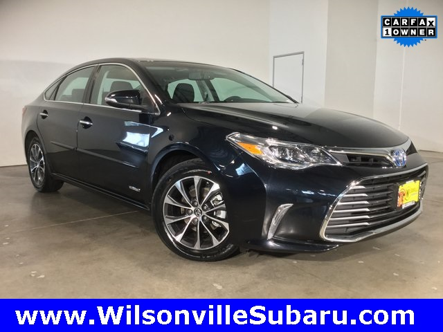 Pre Owned 2016 Toyota Avalon Hybrid Xle Plus