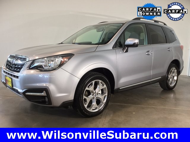 Certified PreOwned 2017 Subaru Forester 25i Touring 4D Sport